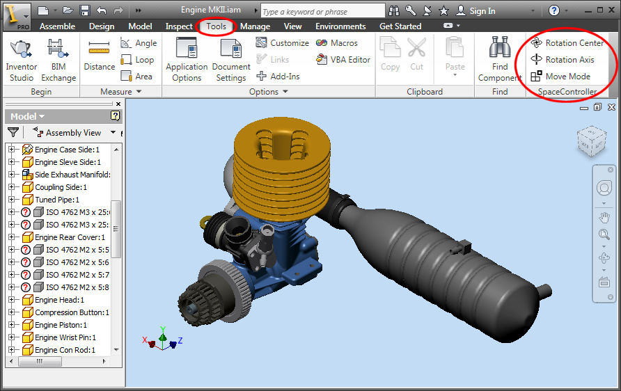 Autodesk Inventor Plug-in ReadMe